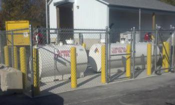 Commercial fueling facilties installation