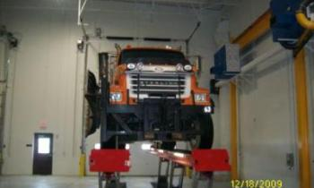 Heavy Duty Hoist Installation