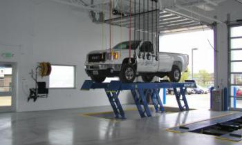 Auto Dealer Maintenance Bay Installation